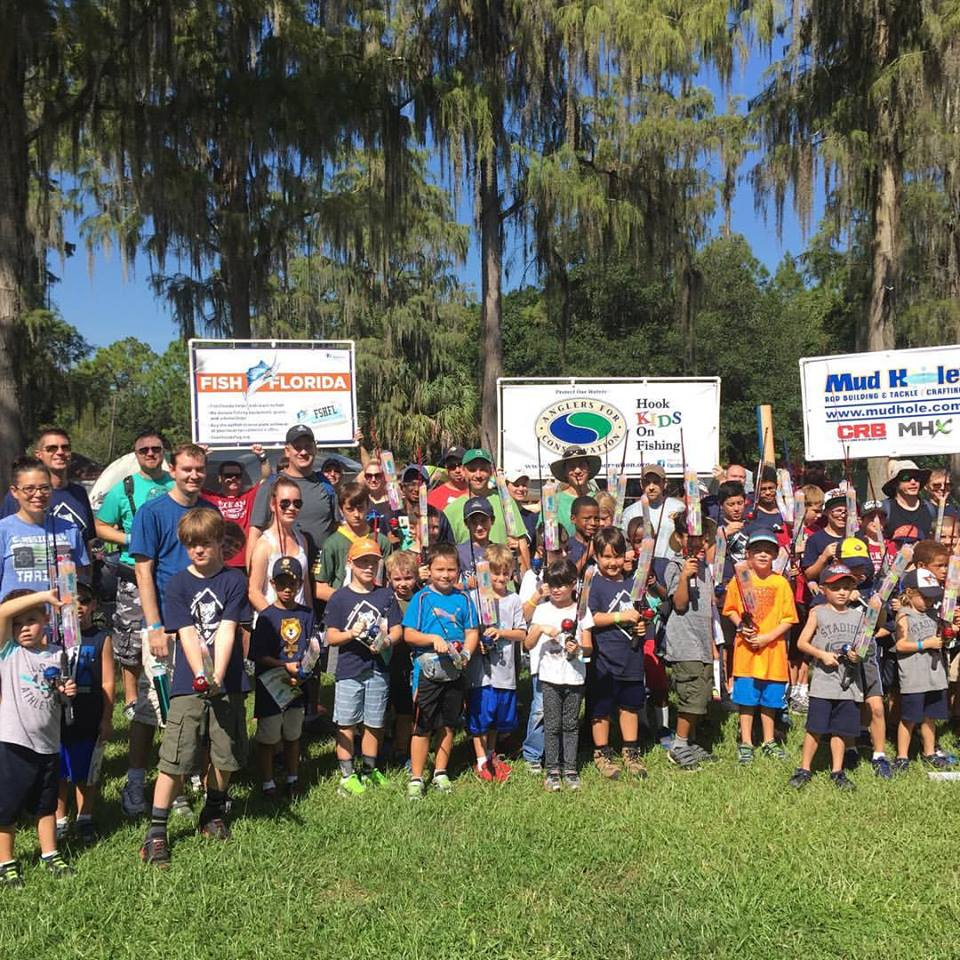 Fort Wilderness Hook Kids on Fishing Program