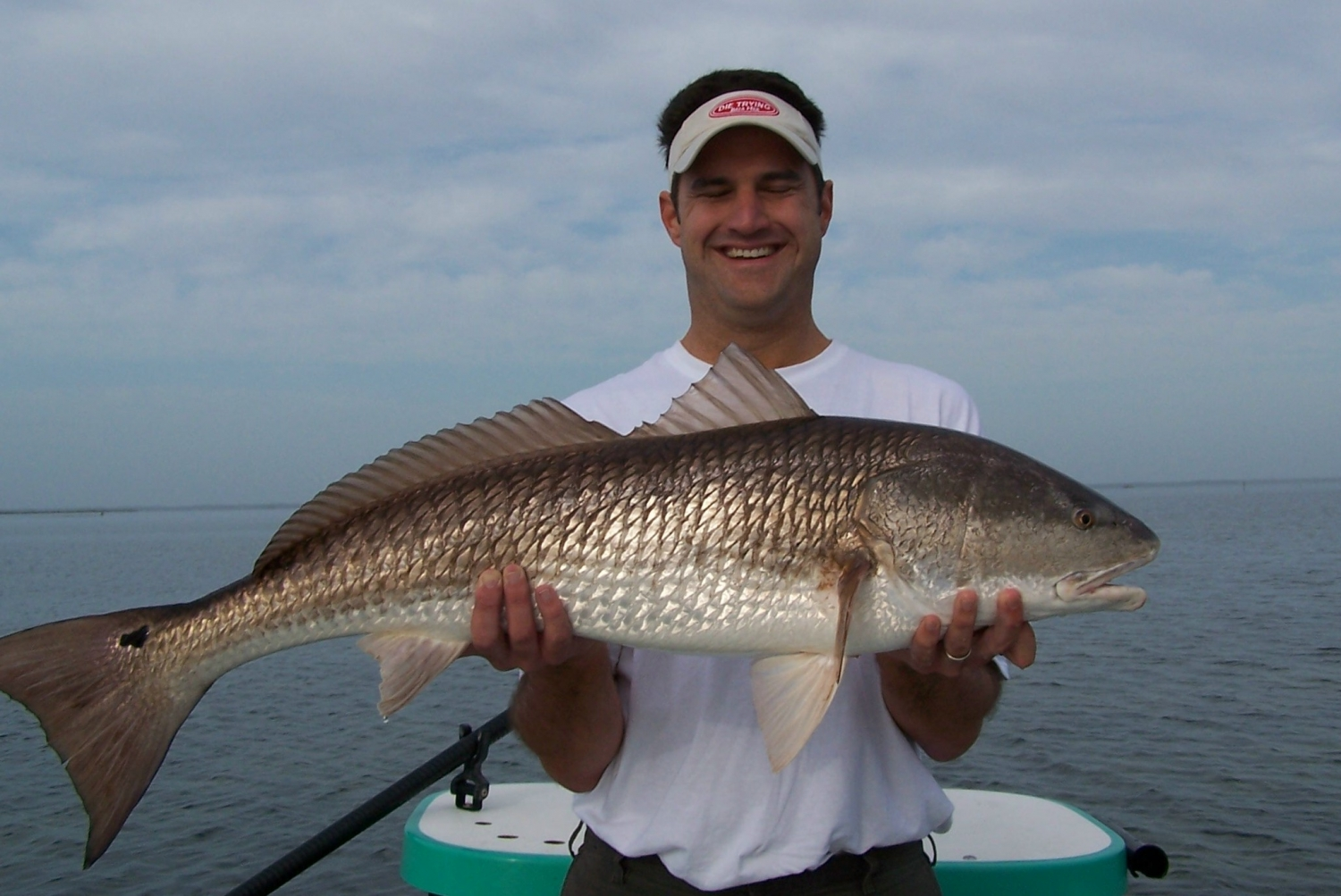 Mid-Summer Redfish caught on the Mosquito Lagoon